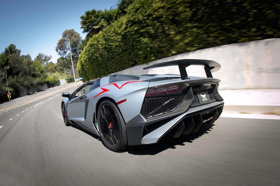 Lamborghini Aventador SV Roadster Rental 2-45959