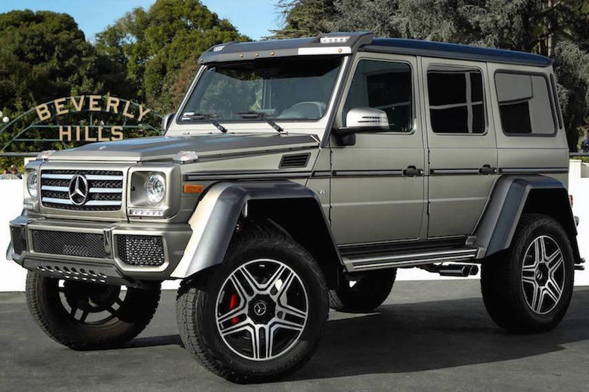 Mercedes G550 4x4 Squared Rental 1-92285